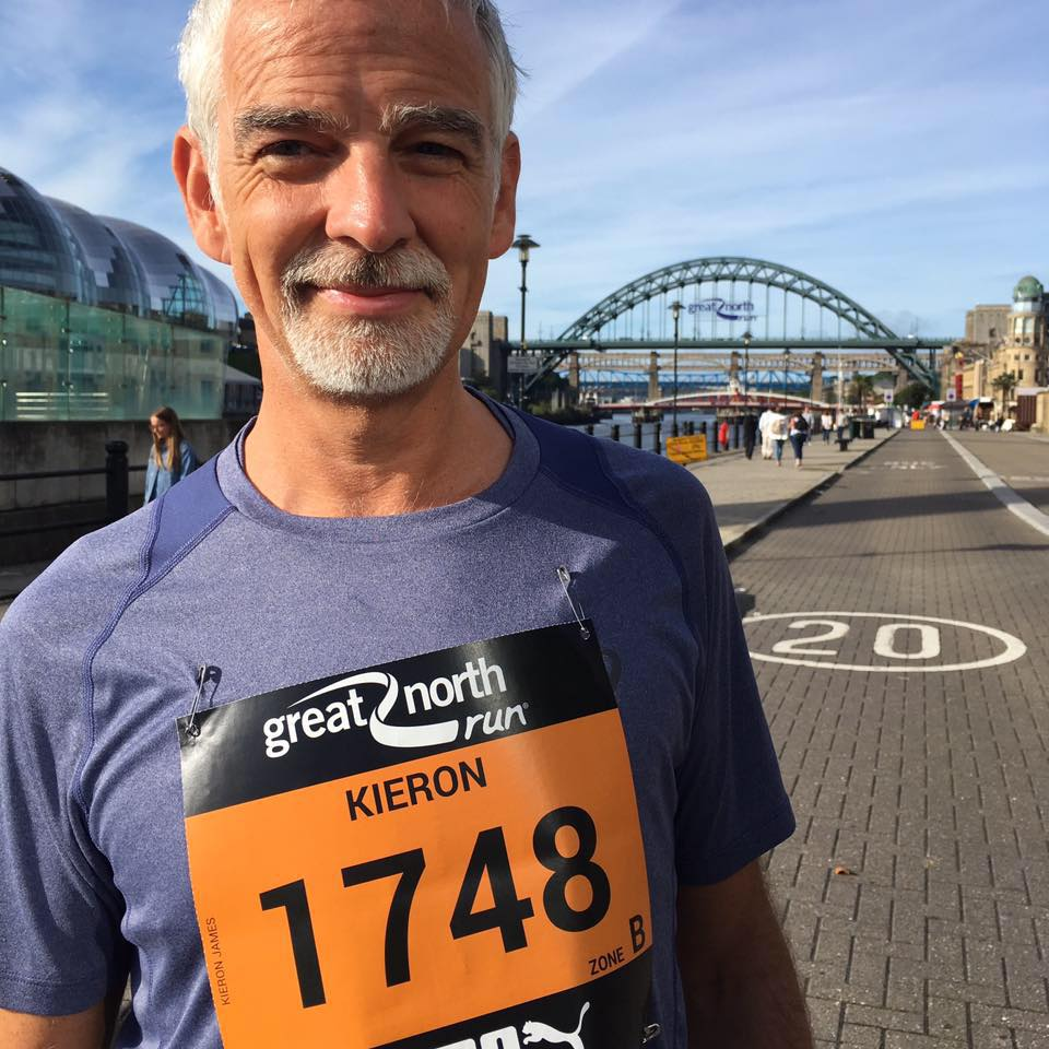 Support Kieron's NYC Marathon for Mind