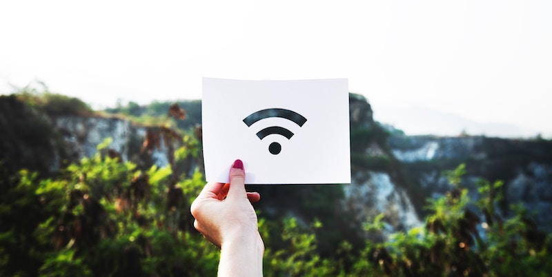 wifi sign cut out